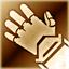 Тяжелые перчатки (золотые)