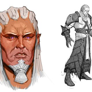 Concept art of Sten from <i>Those Who Speak</i>