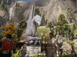Gryf posąg