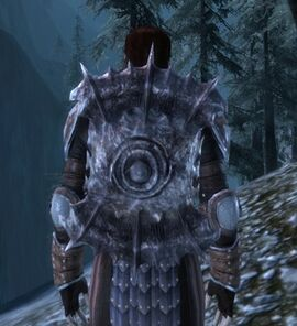Large Darkspawn Shield