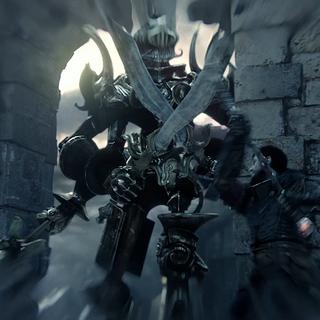 Ein Torwächter aus dem <i>Destiny</i> Trailer