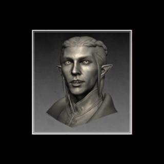 Männlicher Elfen Inquisitor