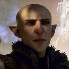 Solas' Profil auf der offiziellen Dragon Age: Inquisition Website