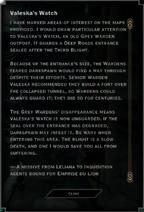 Valeska's Watch Landmark Text