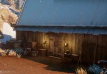 Die Holzhütte