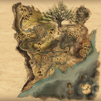 Frostback basin map