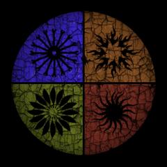 Ein Zirkel-Banner