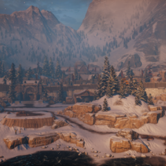 A scenic overlook of Haven in <a href=