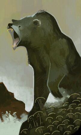 Медведь (карточка)