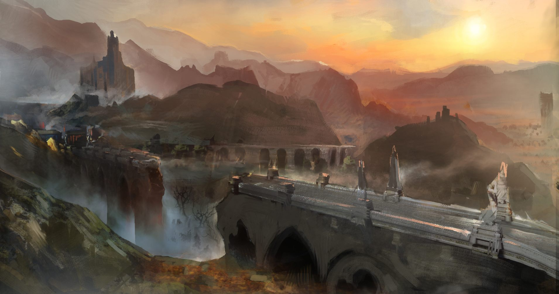 Fantasy Art Imperial Mountain