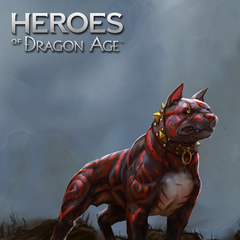 Artwork of Betyar with Kaddis in Heroes of Dragon Age