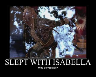 Slept with Isabella