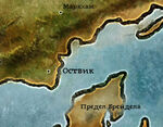 Оствик карта