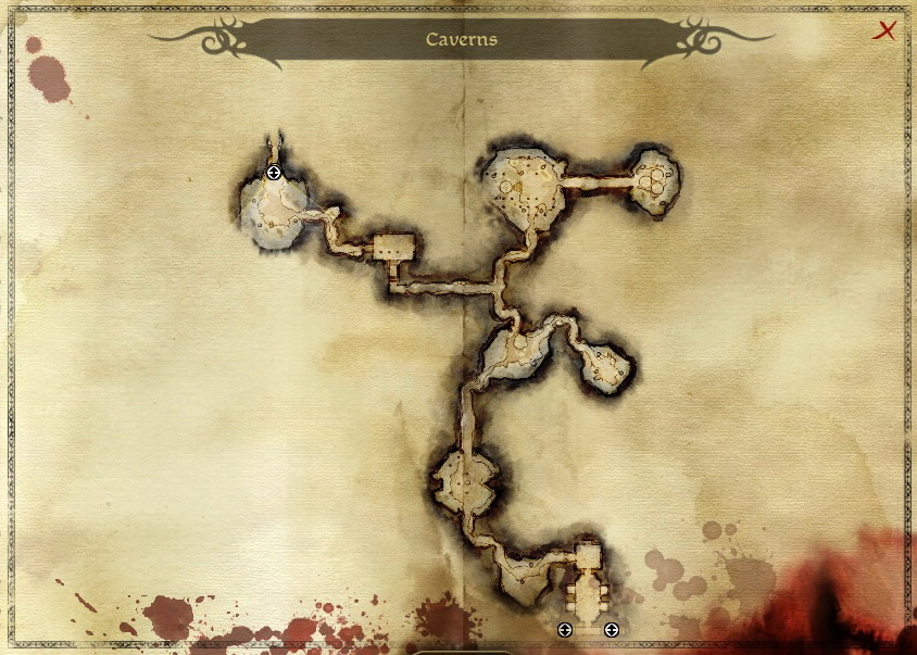 Image map cavernsg dragon age wiki fandom powered by wikia map cavernsg gumiabroncs Image collections