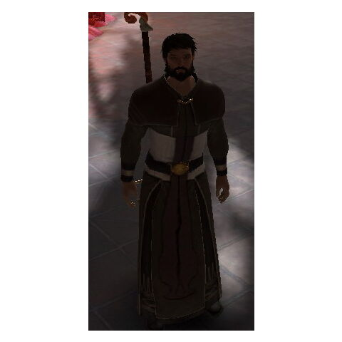 Male version of the Apostate's Robes