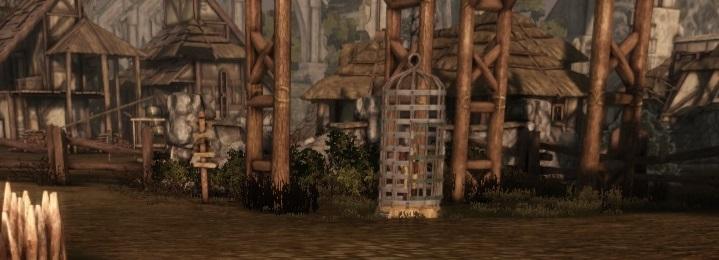 Der gefangene Qunari Panorama