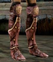 Клепаные кожаные ботинки