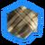 Тронутое Тенью клетчатое полотно (иконка)