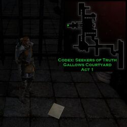 DA2 Codex The Seekers of Truth act 1 Gallows Courtyard