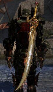 Бдительность большой меч