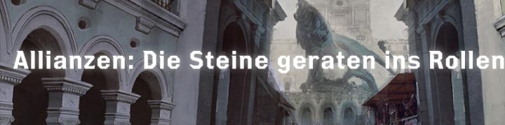 Die Steine geraten ins Rollen - Font