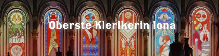 Oberste Klerikerin Iona - Font