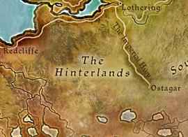 Внутренние Земли карта