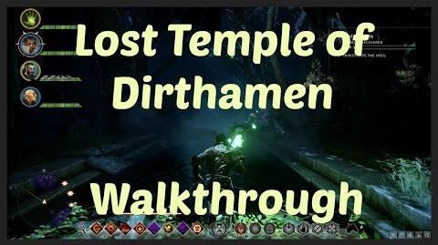 Dragon Age Inquisition - Lost Temple of Dirthamen Walkthrough