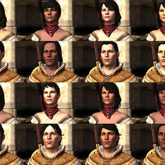 Bethany's appearance varies with Hawke's facial preset and skin tone.