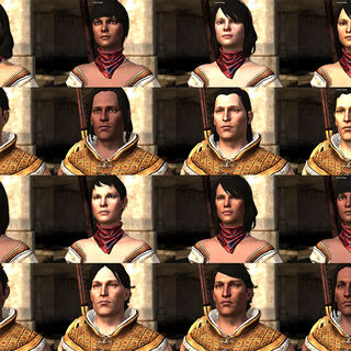 Carver's appearance varies with Hawke's facial preset and skin tone.