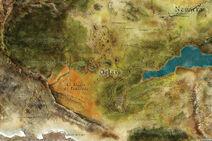 Orlais Mapa