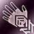 Легкие перчатки (фиолетовые)