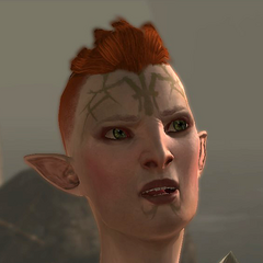 a Dalish assassin, the daughter of <a href=