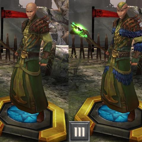 Tier progression Zathrian in <i><a href=