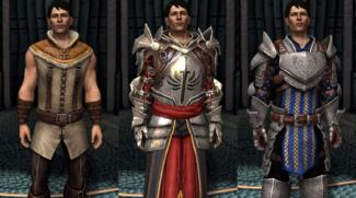 Carver companion armor variations