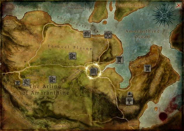 World map (Awakening) | Dragon Age Wiki | Fandom