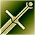 Большой меч (зеленый)