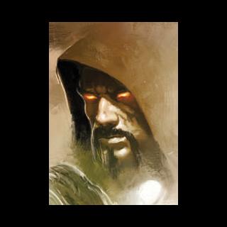 Aurelian auf Cover von <i>Dragon Age Library Edition vol. 1</i>