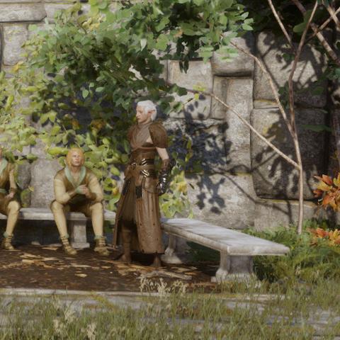 Der Witwer am Hafen