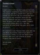 Tyrddas Lover Landmark Letter