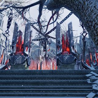 Das Herz der Feste vor der Übernahme durch die Inquisition