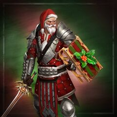 Blackwall in Heroes of Dragon Age zu Weihnachten