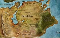 Mapa Fereldenu