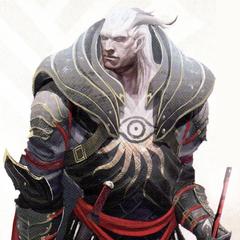 Qunari w pancerzu Poszukiwacza Prawdy