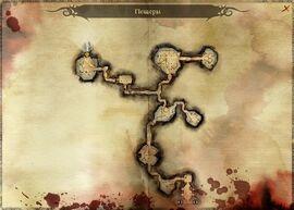 Карта пещер