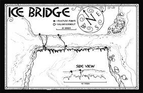 Ледяной мост карта