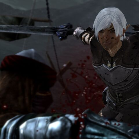 Fenris slaying an enemy