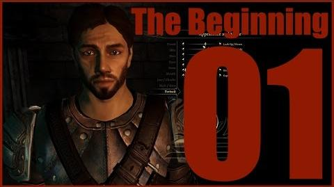 Lets Play Dragon Age Origins Part 01 The Beginning