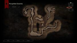 DAI The Descent Caverns Map
