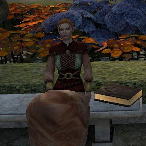 Isolde im DA2 Das Zeichen der Assassinin DLC